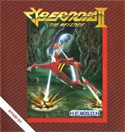 Box cover for Cybernoid 2: The Revenge on the Atari ST.
