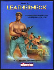 Box cover for Death Bringer on the Atari ST.