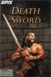 Box cover for Death Sword on the Atari ST.