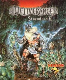 Box cover for Deliverance: Stormlord 2 on the Atari ST.
