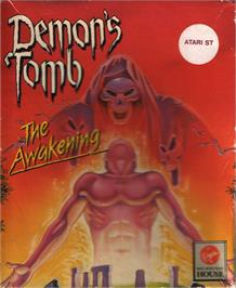 Box cover for Demon's Tomb: The Awakening on the Atari ST.