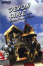 Box cover for Devon Aire in the Hidden Diamond Caper on the Atari ST.