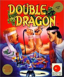 Box cover for Double Dragon on the Atari ST.