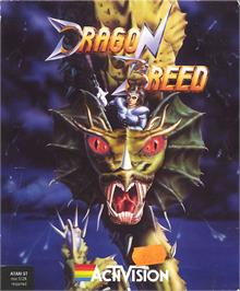 Box cover for Dragon Breed on the Atari ST.