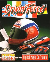 Box cover for Driving Force on the Atari ST.