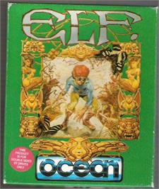 Box cover for Elf on the Atari ST.