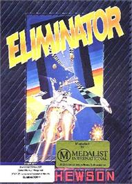 Box cover for Eliminator on the Atari ST.