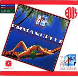 Box cover for Emmanuelle: A Game of Eroticism on the Atari ST.