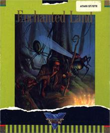 Box cover for Enchanter Trilogy on the Atari ST.