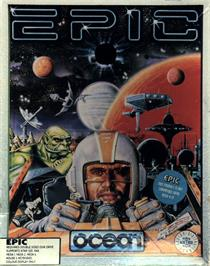 Box cover for Epic on the Atari ST.