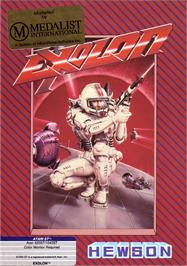Box cover for Exolon on the Atari ST.