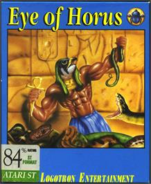 Box cover for Eye of Horus on the Atari ST.