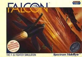 Box cover for Falcon on the Atari ST.