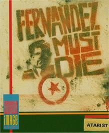 Box cover for Fernandez Must Die on the Atari ST.
