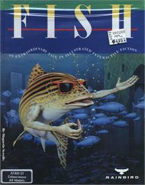 Box cover for Fish on the Atari ST.