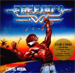 Box cover for Freedom: Rebels in the Darkness on the Atari ST.