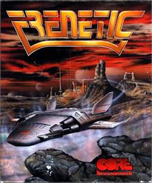 Box cover for Frenetic on the Atari ST.