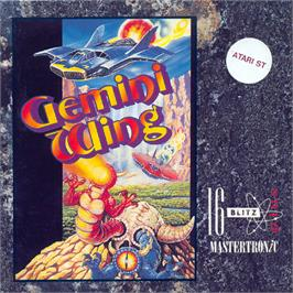 Box cover for Gemini Wing on the Atari ST.