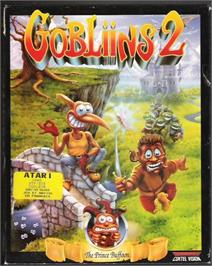 Box cover for Gobliins 2: The Prince Buffoon on the Atari ST.