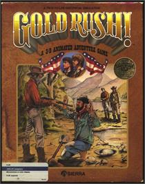 Box cover for Gold Rush on the Atari ST.