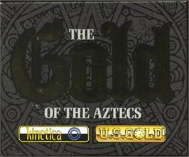 Box cover for Gold of the Aztecs on the Atari ST.