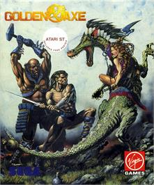 Box cover for Golden Axe on the Atari ST.