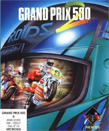 Box cover for Grand Prix 500 2 on the Atari ST.