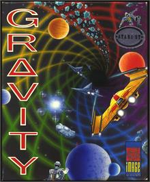 Box cover for Gravity on the Atari ST.