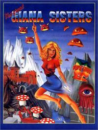 Box cover for Great Giana Sisters on the Atari ST.