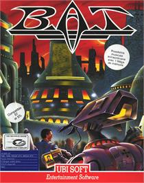 Box cover for HATE on the Atari ST.