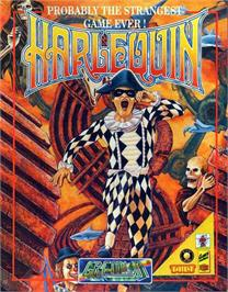 Box cover for Harlequin on the Atari ST.