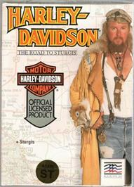 Box cover for Harley-Davidson: The Road to Sturgis on the Atari ST.