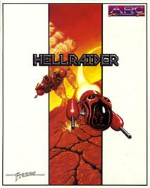 Box cover for Hellraider on the Atari ST.