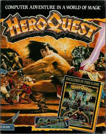 Box cover for Hero Quest on the Atari ST.