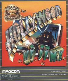Box cover for Hollywood Hijinx on the Atari ST.
