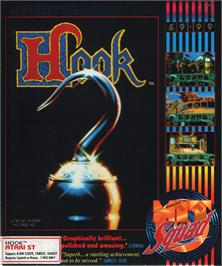 Box cover for Hook on the Atari ST.
