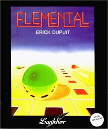 Box cover for Immortal on the Atari ST.