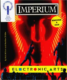 Box cover for Imperium on the Atari ST.