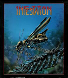 Box cover for Infestation on the Atari ST.
