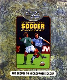 Box cover for International Soccer Challenge on the Atari ST.
