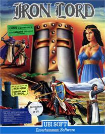 Box cover for Iron Lord on the Atari ST.