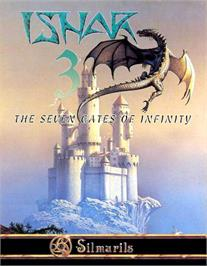 Box cover for Ishar 3: The Seven Gates of Infinity on the Atari ST.