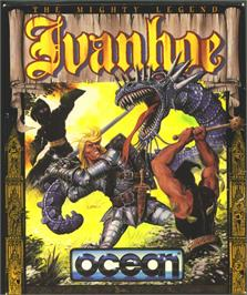 Box cover for Ivanhoe on the Atari ST.