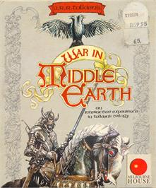 Box cover for J.R.R. Tolkien's War in Middle Earth on the Atari ST.