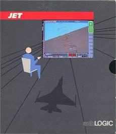 Box cover for Jet on the Atari ST.