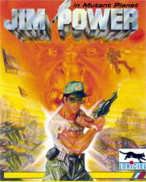 Box cover for Jim Power in