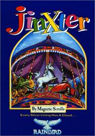Box cover for Jinxter on the Atari ST.