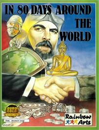 Box cover for Joan of Arc: Siege and the Sword on the Atari ST.