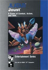 Box cover for Joust on the Atari ST.