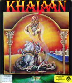 Box cover for Khalaan on the Atari ST.
